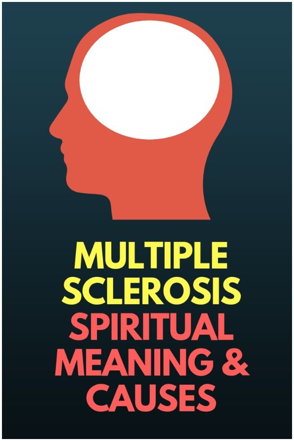 Multiple Sclerosis - Spiritual Meaning & Causes | Healing hands