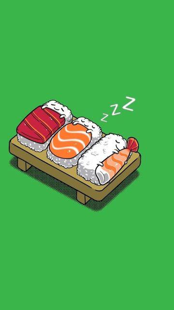 Indo além da caixinha: 5 Fandom Friday - sushi Comidas Geek   Nerd