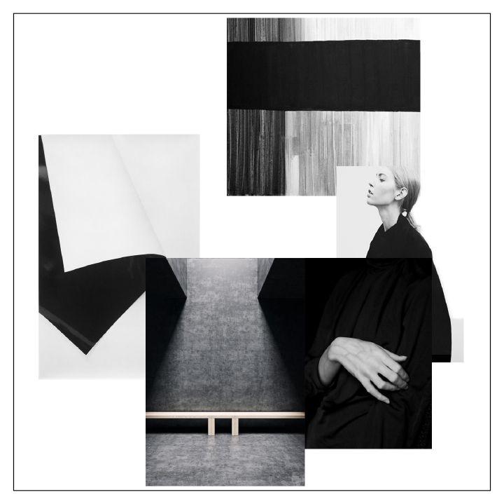 Black and white mood board | DeSmitten