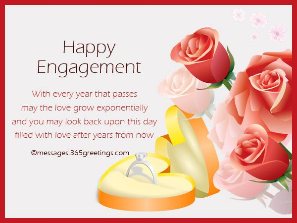 Image result for engagement congratulations message