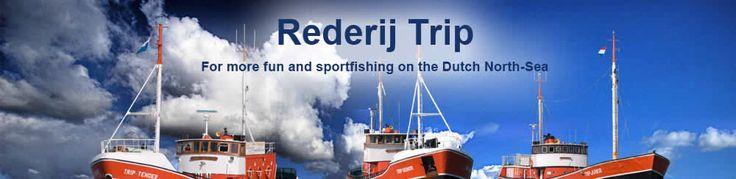 Sport fishing at the Dutch Northsea
