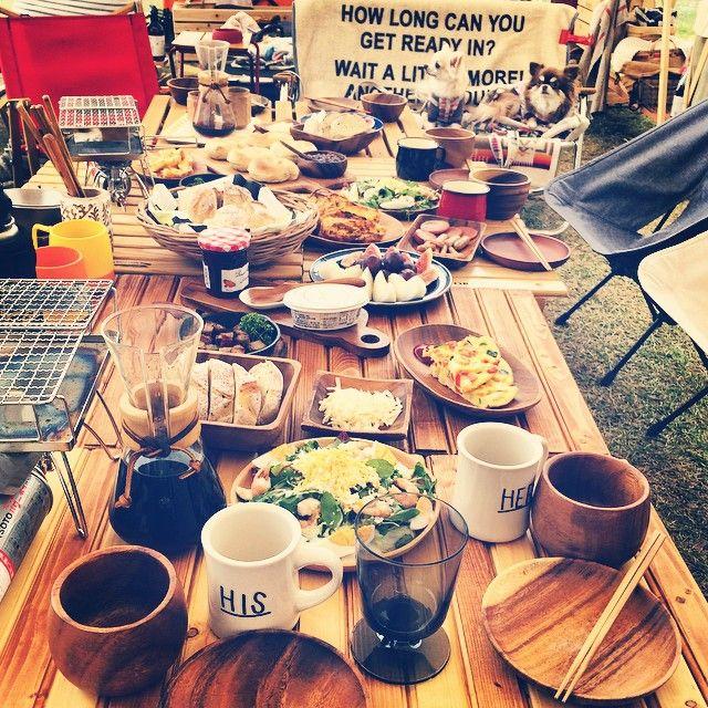 キャンプ飯 camp outdoor