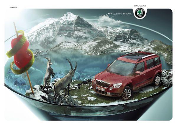 30 Creative Car Ads | Beautiful Life