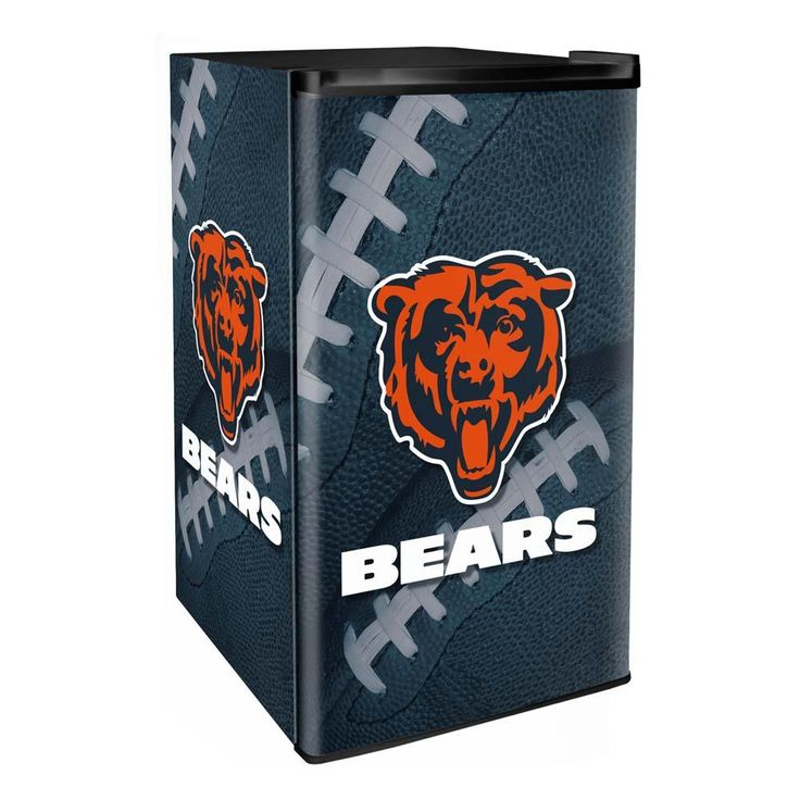 Chicago Bears 3.2 Cubic Feet Mini-Fridge