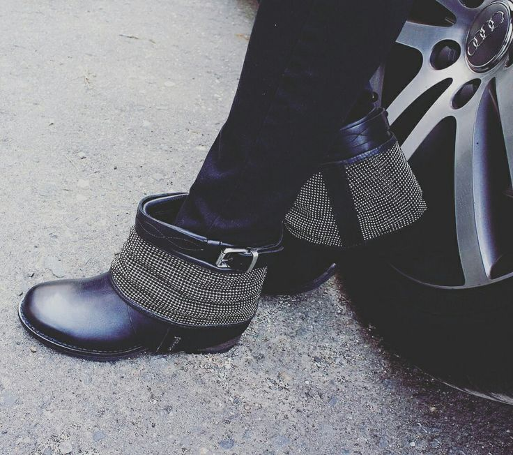 rock style boots