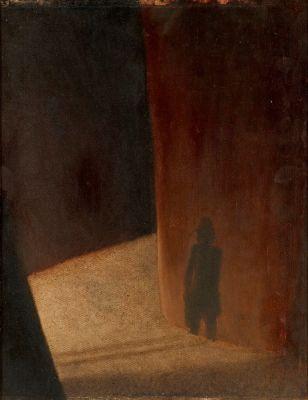 Тимур Новиков. Тень. Автопортрет