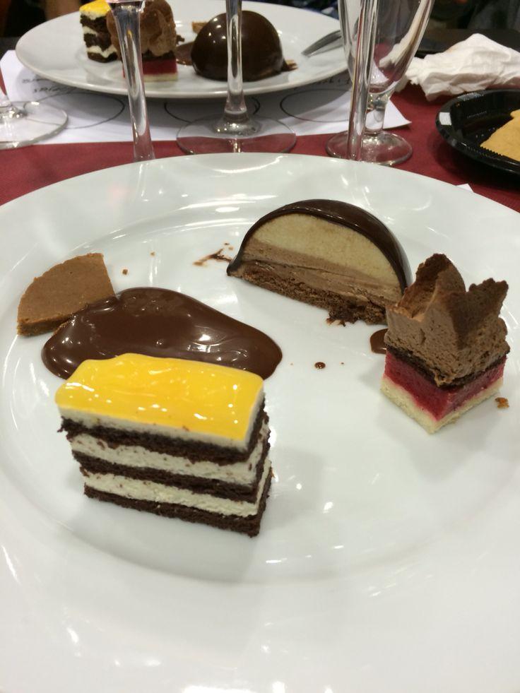 Yummy Taller (Terrassa). Maridando vino y chocolate.