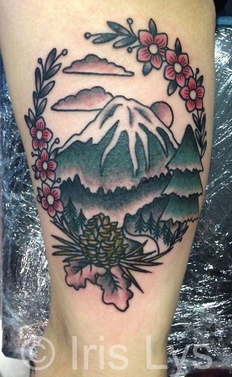 Beautiful tattoo, love the flowers