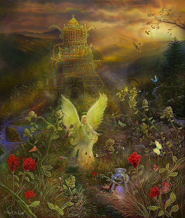Image result for the Art of Steve A Roberts archangel sandalphon