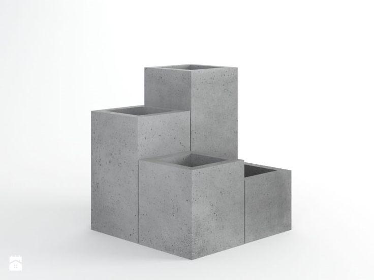 Donica beton architektoniczny Diamond - zdjęcie od Bettoni - Beton Architektoniczny - Ogród - Styl Nowoczesny - Bettoni - Beton Architektoniczny
