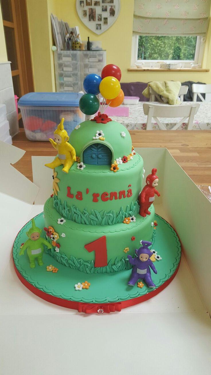 Teletubbie cake