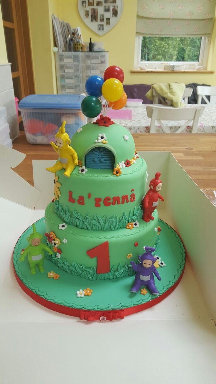 Lala Teletubbies Cake