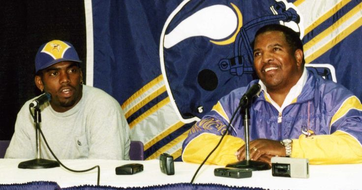 Randy Moss and Dennis Green