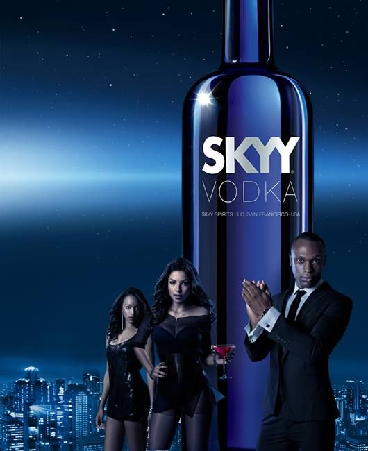 Reach for the stars...Look to the SKYY... www.drinkster.co.za/products/skyy-vodka-original