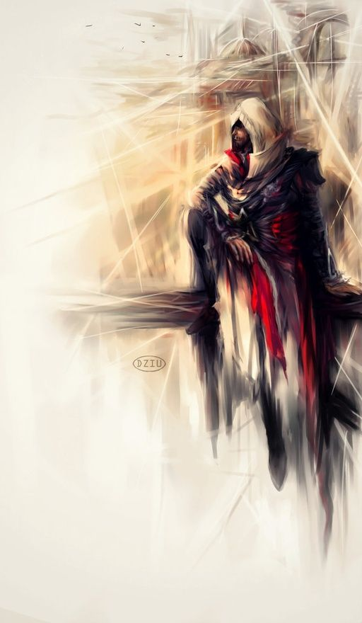 Ezio Auditore da Firenze: Fan art to me just seems so fascinating because it's showing the Designers Artistic Side I Commemorate that Person Who Designed This