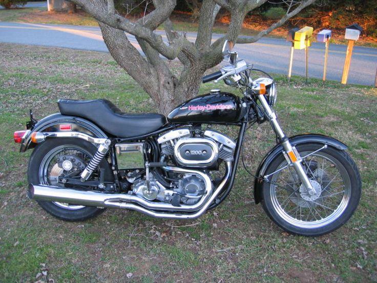 Original UNMOLESTED 1977 AMF HARLEY DAVIDSON FXE SUPER GLIDE SHOVELHEAD