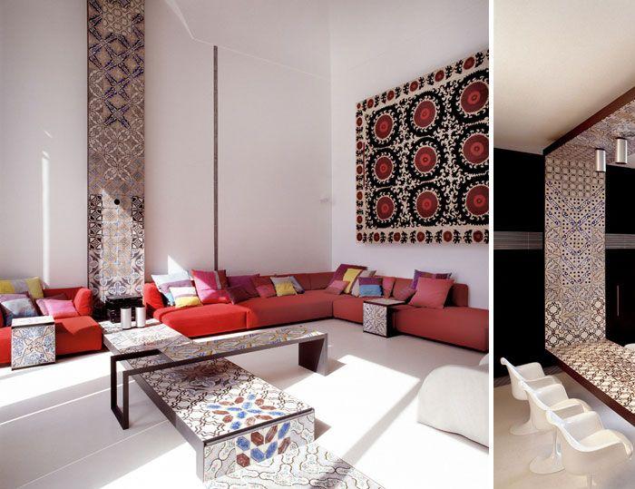 GREAT LIVING ROOMS: Villa in Positano by Lazzarini Pickering Architteti. 8/10/2012 via @Yatzer