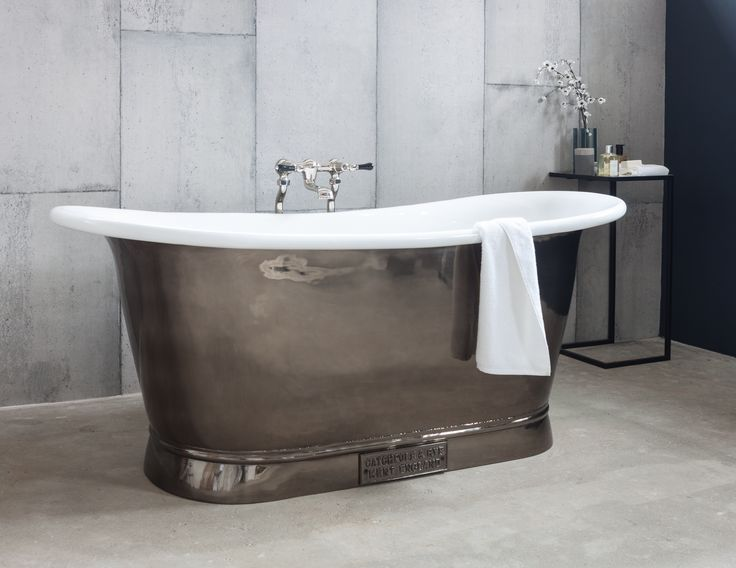The nickel bateau pewter finish by catchpole rye for Bathroom finishes trends