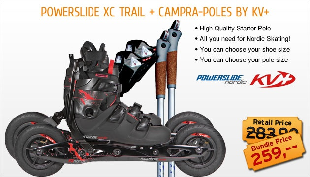 Powerslide Nordic XC Trail - The Nordic Skating Fitness Revolutional Product - I love to go nordic skiing without skis