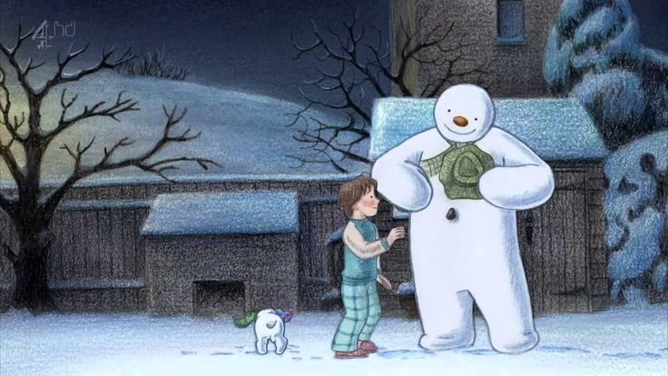 The Snowman and the Snowdog Full HD Animation 2012 - Raymond Briggs 23 min