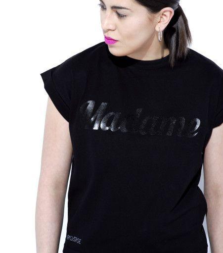 MADAME tee black