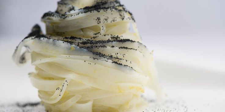 This tagliatella of squid recipe from Italian chef Francesco Sposito uses minimal ingredients to show off the essence of the squid.