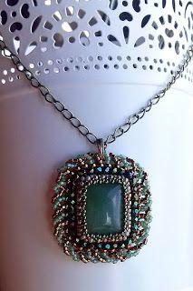 "AtorodArt - biżuteria mój cudowny świat: Komplet ""Harita"""