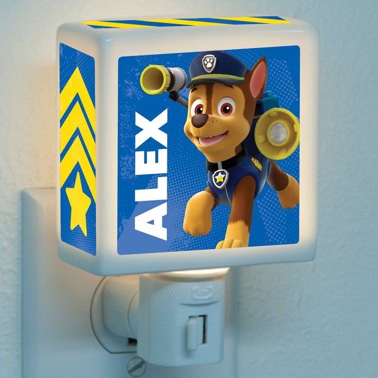 Paw Patrol Chase is on the Case Nightlight | Ty's Toy Box