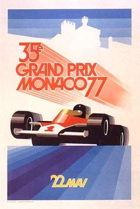1977 35° Grand Prix Monaco - 22 May 1977 - Winner  Jody Scheckter #Wolf-Ford Cosworth- Jody Scheckter vinse per la sesta volta nel mondiale, pur rallentando vistosamente negli ultimi giri per un problema di alimentazione; la Ford-Cosworth conquistò la centesima vittoria. Dietro di lui arrivarono l'austriaco Niki Lauda e l'argentino Carlos Reutemann, entrambi su Ferrari.