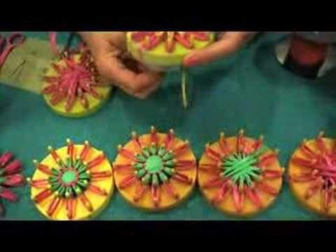 Vintage Flower Looms - CRAFT Video Podcast