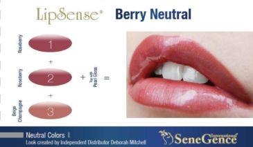 berry neutral lipsense neutral lipcolor recipe
