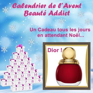 Gagnez le Diorific Vernis de Dior ! Des produits de Beauté à Gagner tous les jours en jouant au Calendrier de l'Avent ! http://www.beaute-addict.com/jeux/le-calendrier-de-lavent-71-0.php