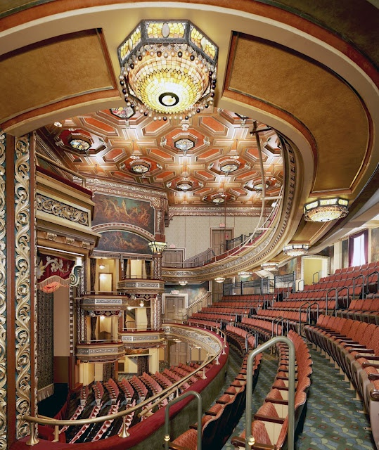The Belasco Theather.  Downtown Los Angeles, CA.  The British royals, prince and princess,  visited the Belasco Theater a couple years ago.