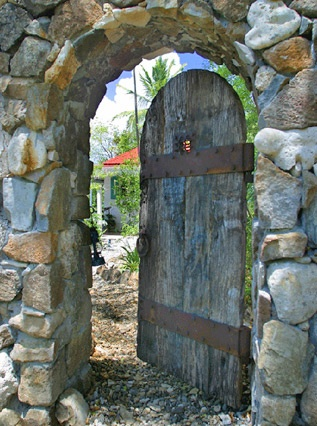 Seagrape Cottage   Luxury Holiday Villa In Little Thatch Island, Tortola  (Caribbean). Find This Pin And More On Rustic Garden Gates ...