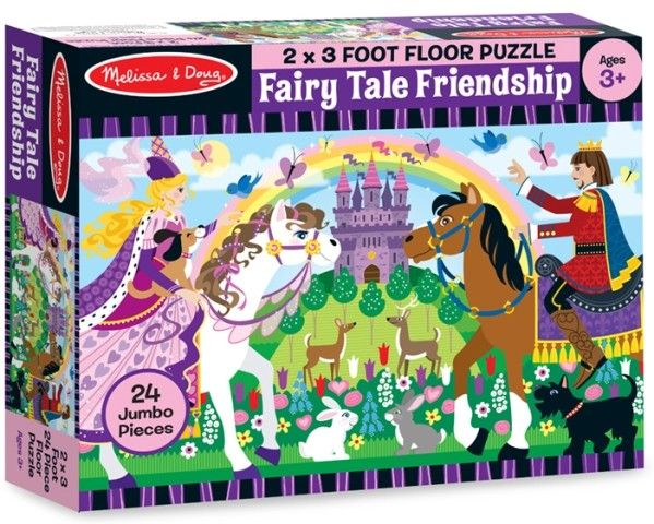 Melissa & Doug - Floor Puzzle Fairy Tale Friendship Can never have too many puzzles #EntropyWishList #PinToWin