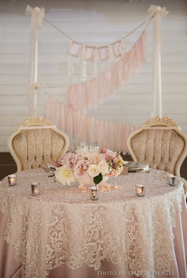 "#MeetTheMikaeles2015 #091815- Wedding Theme: ""Timeless Romance with Modern Vintage Details""- Green Gables Wedding Estate- Ceremony in Garden under Oak Tree- Cute sweetheart table!"