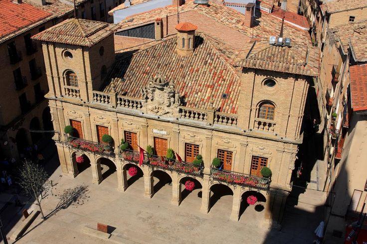 Edificio del Ayuntamiento de Viana, Navarra