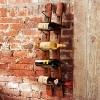 Beautiful Wine Rack Made from Old California Wine Barrels recycled wine barrel wine rack – Inhabitat - Sustainable Design Innovation, Eco Architecture, Green Building: Wine Racks, Stave Wine, Wine Barrels, Brick Wall, Towels Racks, Wine Holders, Wine Bottle, Barrels Wine, Napa Style