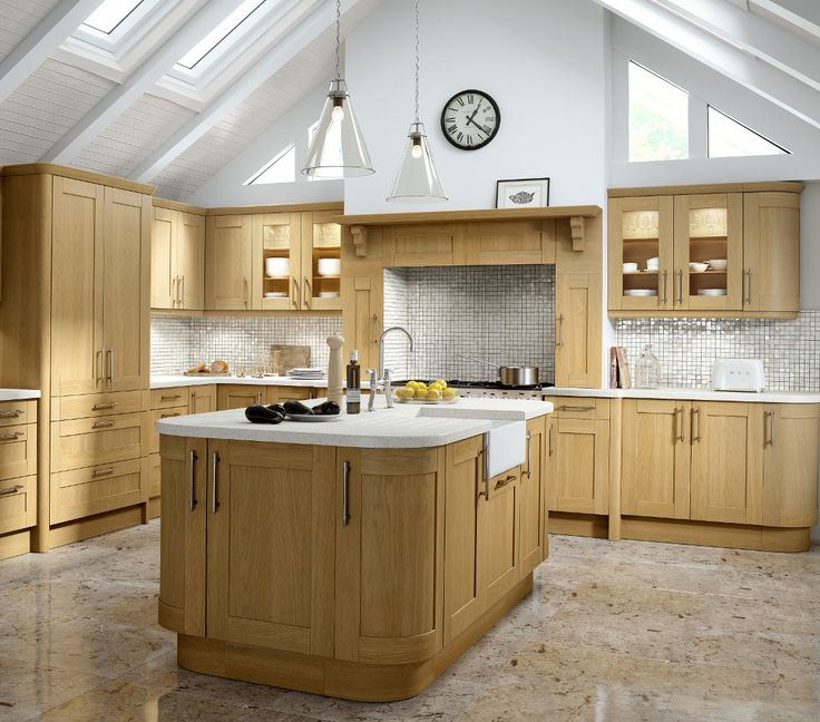 Tuscany Lissa Oak Kitchen - Choose Style available at Kitchens Direct NI