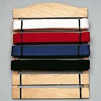 Need to figure out how to build this: Six Level Belt Martial Arts Display Rack Holder