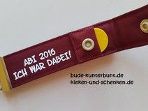 ABI 2016 Abitur - Schlüsselband - Geschenk Abitur