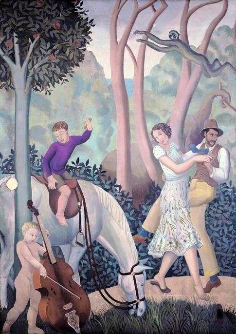 mary adshead 1904 95 a tropical fantasy: charles reilly