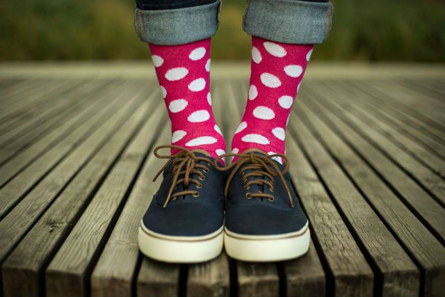 Socks that make you smile