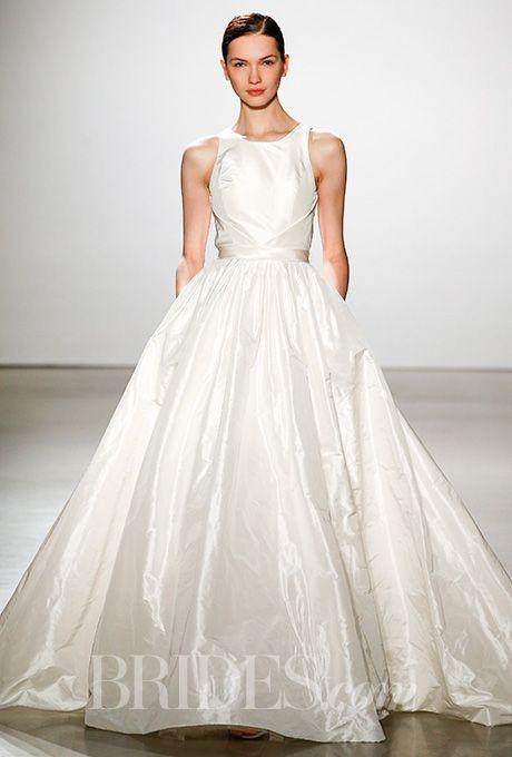 Brides: Amsale Wedding Dresses   Spring 2016   Bridal Runway Shows   Brides.com | Wedding Dresses Style