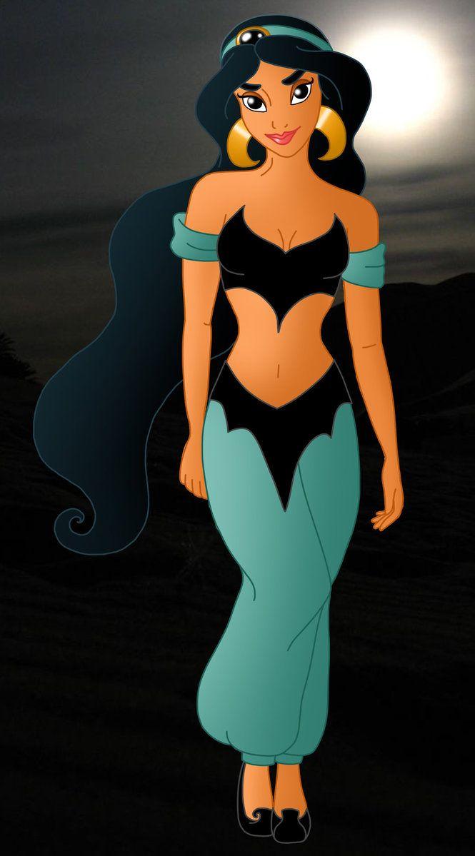Evil Princess: Jasmine by Willemijn1991 on deviantART