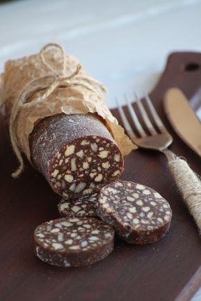 Шоколадная колбаса | HomeBaked