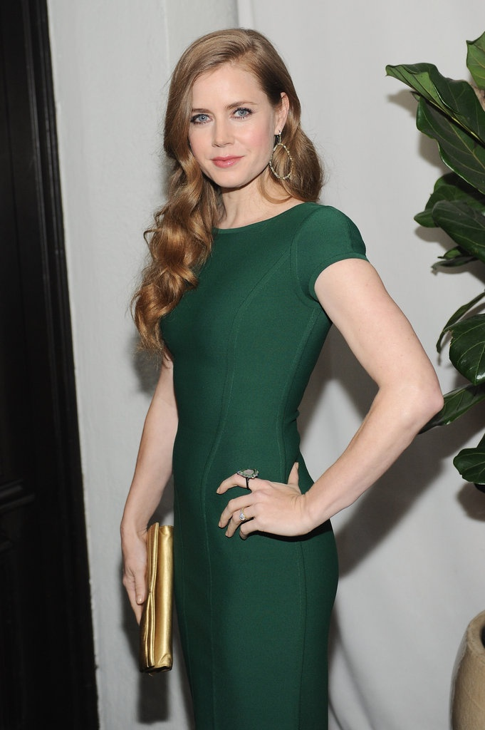 PopSugar.com:: W Magazine Party Pictures 2013 - Amy Adams - love this look!