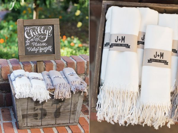 pashmina favors for wedding guests - photo by Carlie Statsky