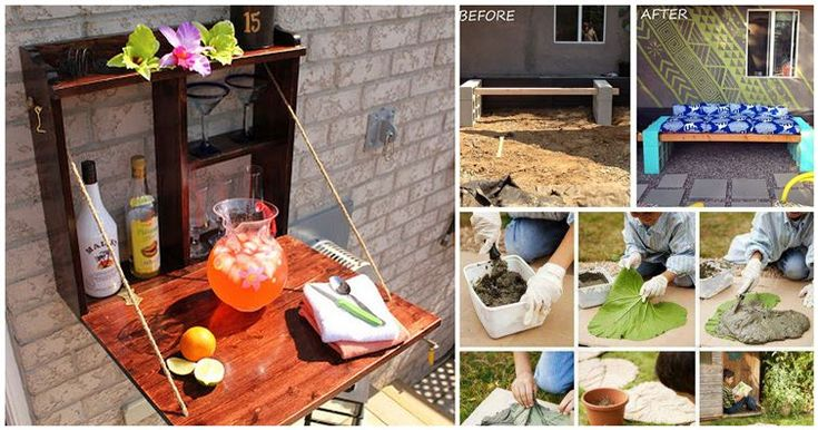 16 DIY Backyard Projects You Can Finish In One Weekend