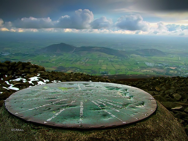 Slieve Gullion Summit, highest 'mountain in Co. Armagh. Rumour has it faeries built a Kingdom within it